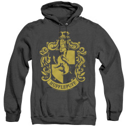 Image for Harry Potter Heather Hoodie - Hufflepuff Logo