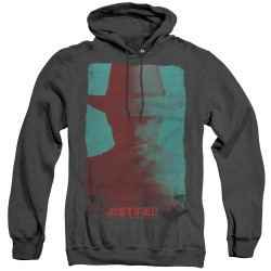 Image for Justified Heather Hoodie - Silhouette