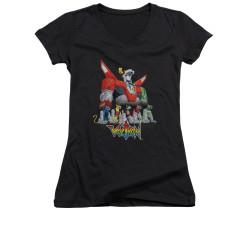 Image for Voltron Girls V Neck T-Shirt - Lions
