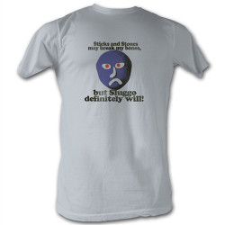 Image Closeup for Mr. Bill Sluggo will break your bones T-Shirt