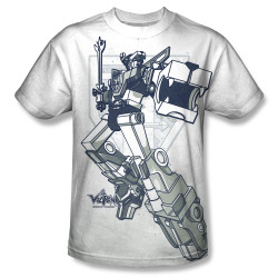 Image for Voltron Sublimated T-Shirt - Defender 100% Polyester