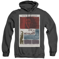 Image for Star Trek the Next Generation Juan Ortiz Episode Poster Heather Hoodie - Season 7 Ep. 18 Eye of the Beholder on Black