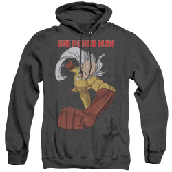 Image for One Punch Man Heather Hoodie - Heroic Fist