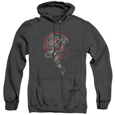 Image for Justice League Movie Heather Hoodie - Cyborg