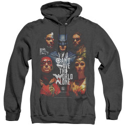 Image for Justice League Movie Heather Hoodie - Save the World
