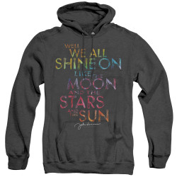 Image for John Lennon Heather Hoodie - All Shine On