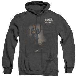 Image for Billy Joel Heather Hoodie - 52nd Street