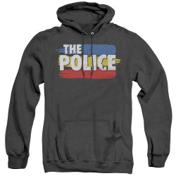 Image for The Police Heather Hoodie - Three Stripes