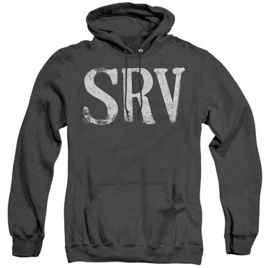 Image for Stevie Ray Vaughan Heather Hoodie - SRV