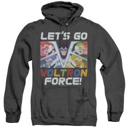 Image for Voltron: Legendary Defender Heather Hoodie - Let's Go