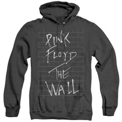 Image for Roger Waters Heather Hoodie - The Wall on Black