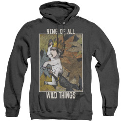 Image for Where the Wild Things Are Heather Hoodie - King of All Wild Things