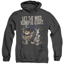 Image for Where the Wild Things Are Heather Hoodie - Wild Rumpus