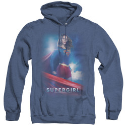 Image for Supergirl Heather Hoodie - Kara Zor-El