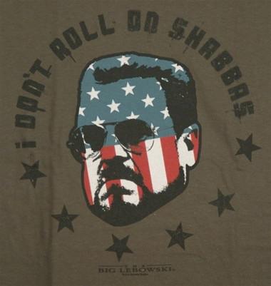 Image for Big Lebowski T-Shirt - I Don't Roll on Shabbas