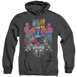 Image for Teen Titans Go! Heather Hoodie - Go to the Movies Burst Through