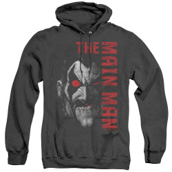 Image for Lobo Heather Hoodie - the Main Man