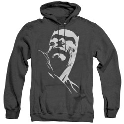 Image for Batman Heather Hoodie - Contrast Profile Head