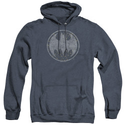 Image for Batman Heather Hoodie - Starry Night Shield