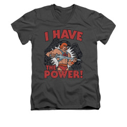 Image for Masters of the Universe V-Neck T-Shirt I Have the Power