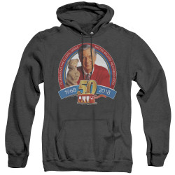 Image for Mr. Rogers Heather Hoodie - 50th Anniversary Design