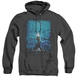 Image for Aquaman Movie Heather Hoodie - Poster