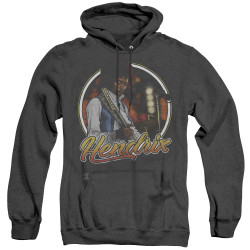 Image for Jimi Hendrix Heather Hoodie - Hollywood Bowl
