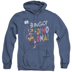 Image for Jurassic Park Heather Hoodie - Bingo Dino DNA