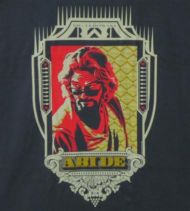 Image for Big Lebowski T-Shirt - Dude Abides Crest