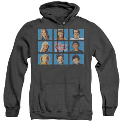 Image for The Brady Bunch Heather Hoodie - Framed