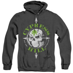 Image for Cypress Hill Heather Hoodie - Skull and Arrows