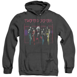 Image for Twisted Sister Heather Hoodie - Neon Gate