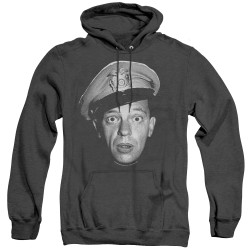 Image for Andy Griffith Show Heather Hoodie - Barney Head