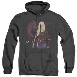 Image for Medium Heather Hoodie - Allison