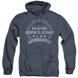 Image for Family Ties Heather Hoodie - Young Republicans Club
