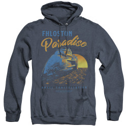 Image for The Fifth Element Heather Hoodie - Paradise