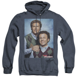 Image for Step Brothers Heather Hoodie - The Portrait
