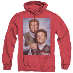 Image for Step Brothers Heather Hoodie - Family Portrait