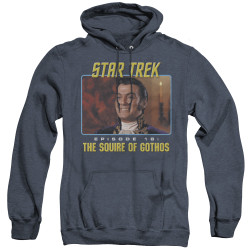 Image for Star Trek Heather Hoodie - Episode 18: The Squire of Gothos