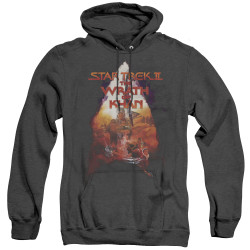 Image for Star Trek Heather Hoodie - The Wrath of Khan Poster