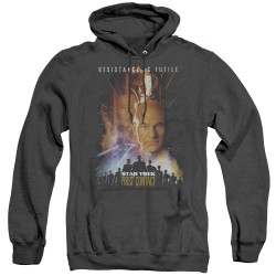 Image for Star Trek Heather Hoodie - First Contact