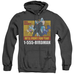 Image for Harvey Birdman Attorney at Law Heather Hoodie - Law Ad