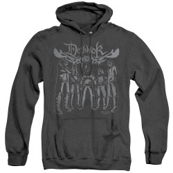 Image for Metalocalypse Heather Hoodie - Deathklok Band