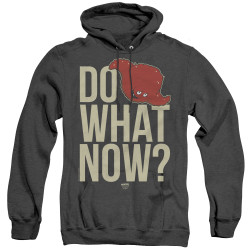 Image for Aqua Teen Hunger Force Heather Hoodie - Say What Now?