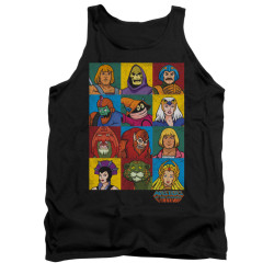 Image for Masters of the Universe Tank Top - Character Heads