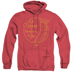 Image for Ferris Bueller's Day Off Heather Hoodie - Abe Fromen