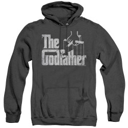 Image for The Godfather Heather Hoodie - Logo