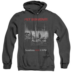 Image for Pet Sematary Heather Hoodie - Cat Poster