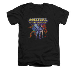 Image for Masters of the Universe V-Neck T-Shirt Team of Heroes