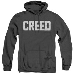 Image for Creed Heather Hoodie - Logo Cracked